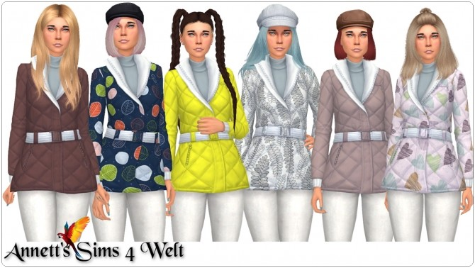 Winter Jacket Recolors at Annett's Sims 4 Welt image 649 670x378 Sims 4 Updates