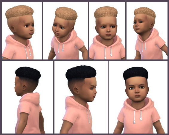 Under Cut Hair Toddler at Birksches Sims Blog image 657 Sims 4 Updates