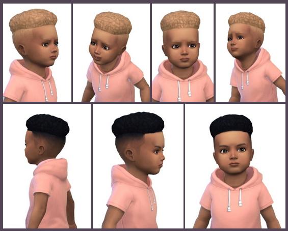 Sims 4 Under Cut Hair Toddler at Birksches Sims Blog