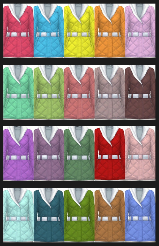Winter Jacket Recolors at Annett's Sims 4 Welt image 6610 Sims 4 Updates
