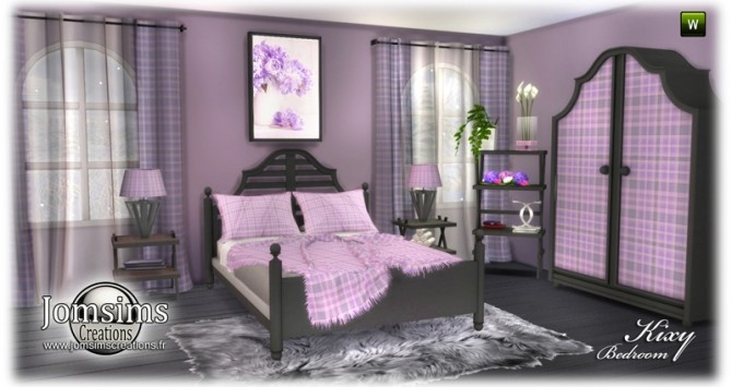 Kixy bedrooms at Jomsims Creations image 6622 670x355 Sims 4 Updates