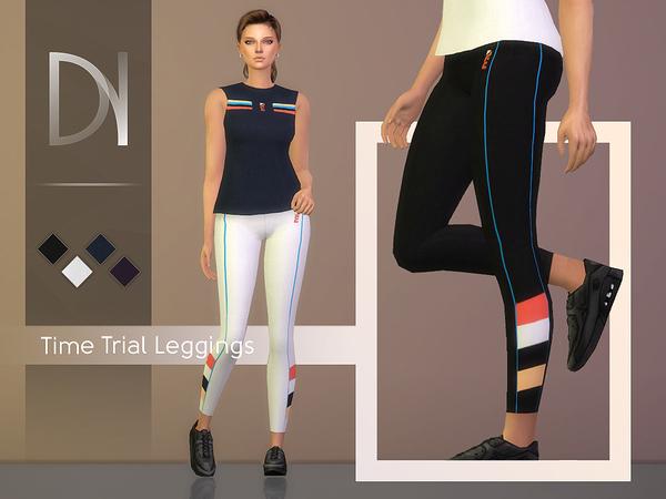 Sims 4 Time Trial Leggings by DarkNighTt at TSR