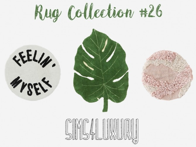Sims 4 Rug Collection #26 at Sims4 Luxury