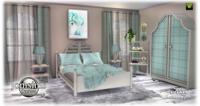 Kixy bedrooms at Jomsims Creations image 6821 670x355 Sims 4 Updates