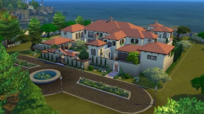 Mediterranean Mansion at ShojoAngel image 6910 670x377 Sims 4 Updates