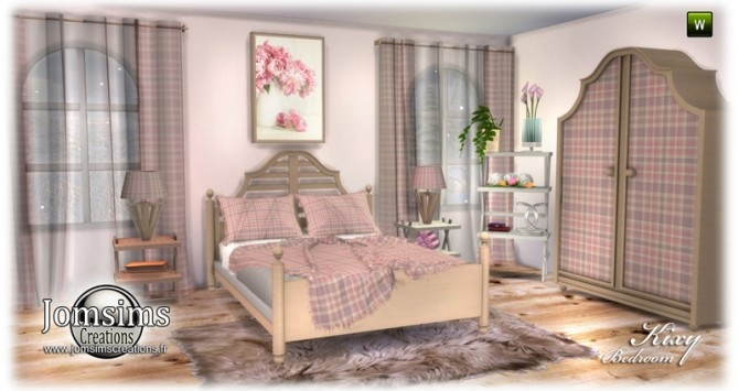 Kixy bedrooms at Jomsims Creations image 6922 670x355 Sims 4 Updates