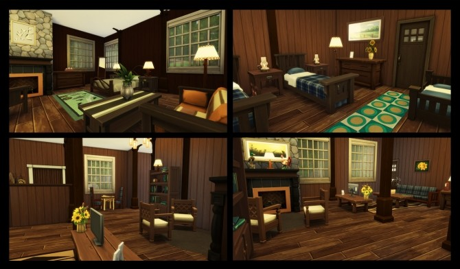 Sims 4 Cozy Cabin at Simming With Mary