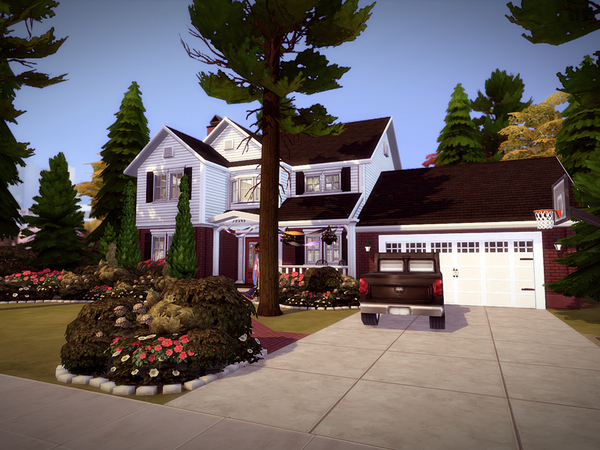 Cloveway house by melcastro91 at TSR image 696 Sims 4 Updates