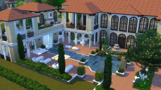 Mediterranean Mansion at ShojoAngel image 7010 670x377 Sims 4 Updates