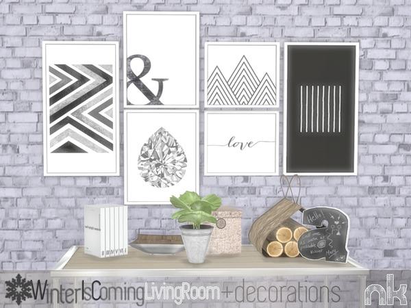 Nikadema Wic Decoration Stuff by nikadema at TSR image 7105 Sims 4 Updates