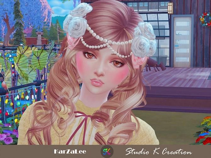 Roses headpiece at Studio K Creation image 7214 670x502 Sims 4 Updates
