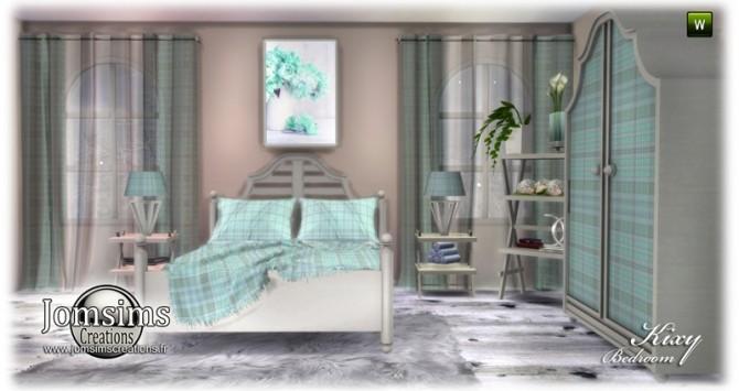Kixy bedrooms at Jomsims Creations image 7222 670x355 Sims 4 Updates