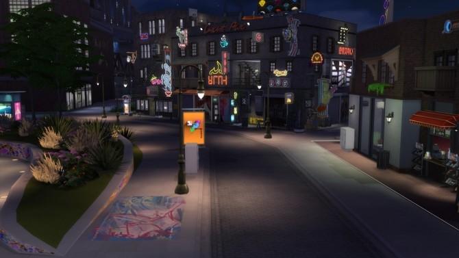 Sims 4 Downtown at ShojoAngel