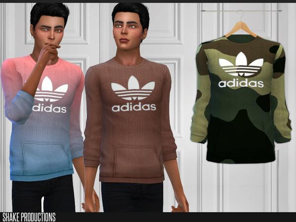 Sims 4 172 Sweatshirt by ShakeProductions at TSR