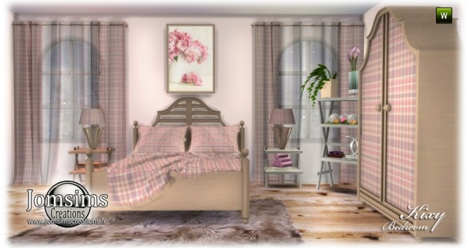 Kixy bedrooms at Jomsims Creations image 7321 670x355 Sims 4 Updates