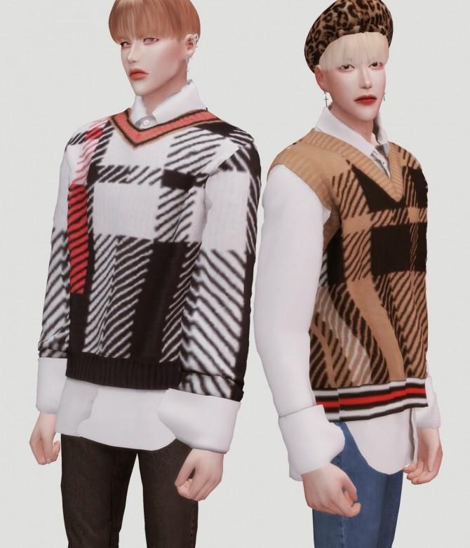 Boys knit shirts set at Kiro image 7416 670x781 Sims 4 Updates
