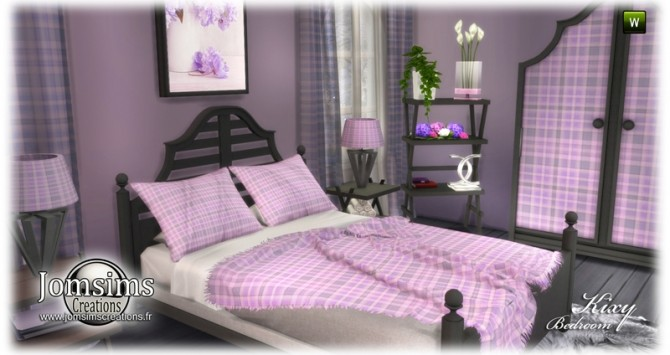 Kixy bedrooms at Jomsims Creations image 7420 670x355 Sims 4 Updates