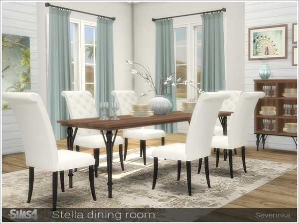 Stella diningroom by Severinka at TSR image 747 Sims 4 Updates