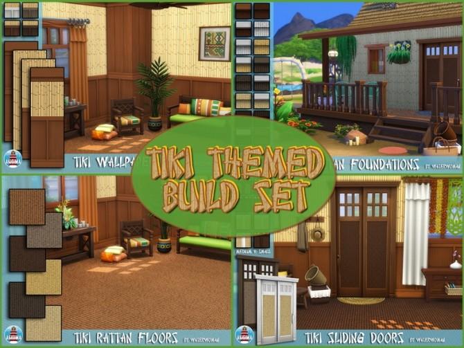 Tiki Themed Build Set by Waterwoman at Akisima image 7513 670x503 Sims 4 Updates