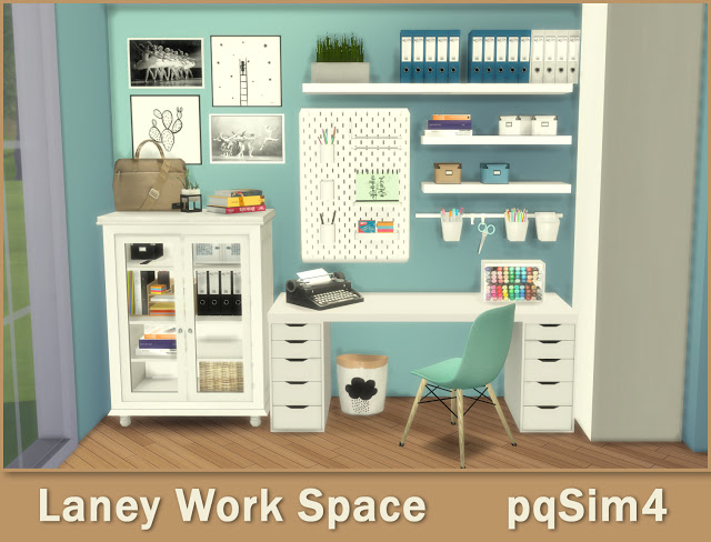 Lanei Work Space at pqSims4 image 7519 Sims 4 Updates