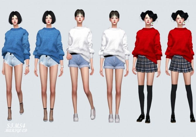 MM Sweater at Marigold image 758 670x468 Sims 4 Updates
