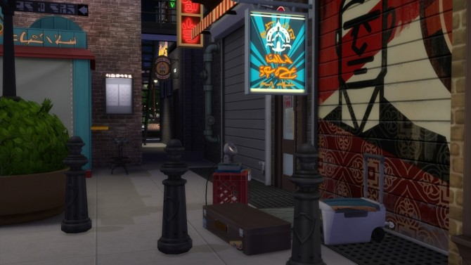 Downtown at ShojoAngel image 759 670x377 Sims 4 Updates