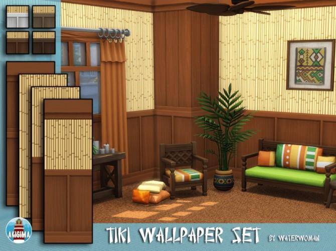 Tiki Themed Build Set by Waterwoman at Akisima image 7613 670x502 Sims 4 Updates