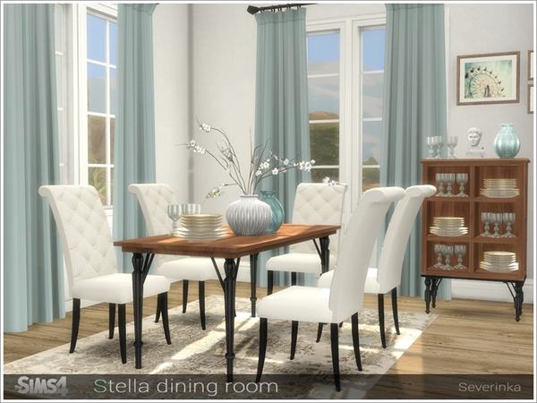 Stella diningroom by Severinka at TSR image 767 Sims 4 Updates