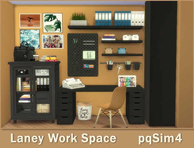Lanei Work Space at pqSims4 image 7719 Sims 4 Updates