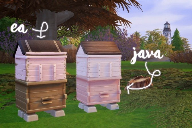 Javabean's Home for Bees at Hamburger Cakes image 774 670x446 Sims 4 Updates