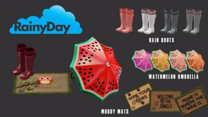 Rainy Day set (P) at Leo Sims image 779 670x377 Sims 4 Updates