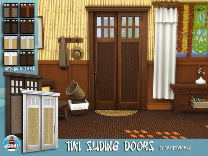 Tiki Themed Build Set by Waterwoman at Akisima image 7812 670x502 Sims 4 Updates