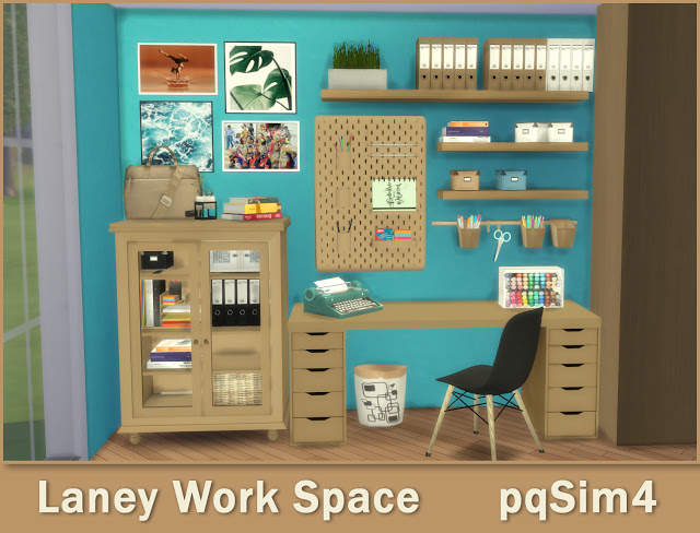 Lanei Work Space at pqSims4 image 7818 Sims 4 Updates