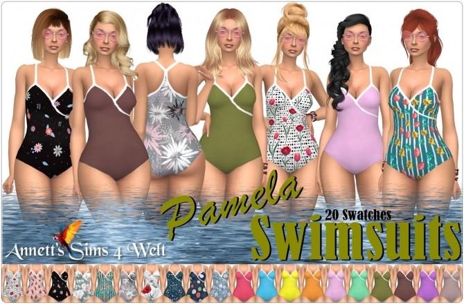 Pamela swimsuits at Annett's Sims 4 Welt image 783 670x440 Sims 4 Updates
