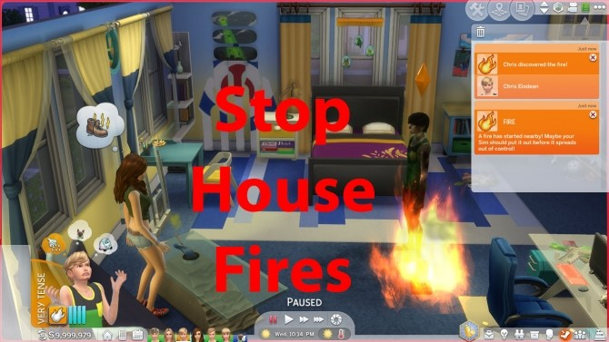 No More House Fires by cyclelegs at Mod The Sims image 787 670x377 Sims 4 Updates