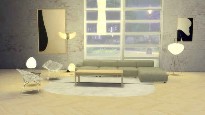 AKARI LIGHT SCULPTURES at Meinkatz Creations image 788 670x377 Sims 4 Updates