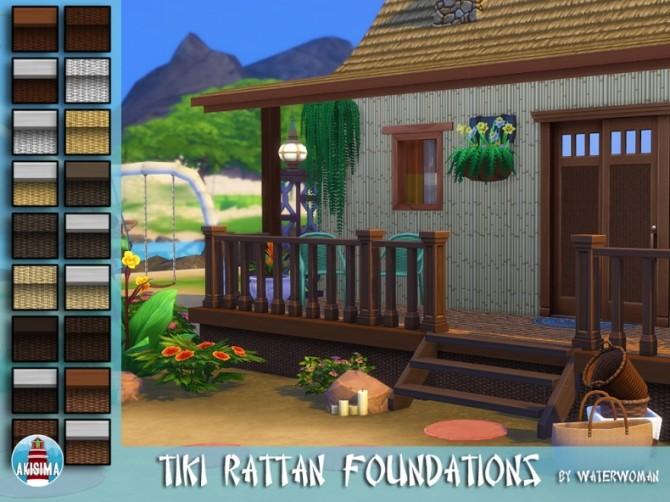 Tiki Themed Build Set by Waterwoman at Akisima image 7912 670x502 Sims 4 Updates