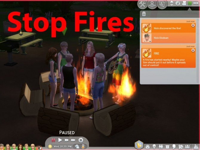No More House Fires by cyclelegs at Mod The Sims image 796 670x501 Sims 4 Updates