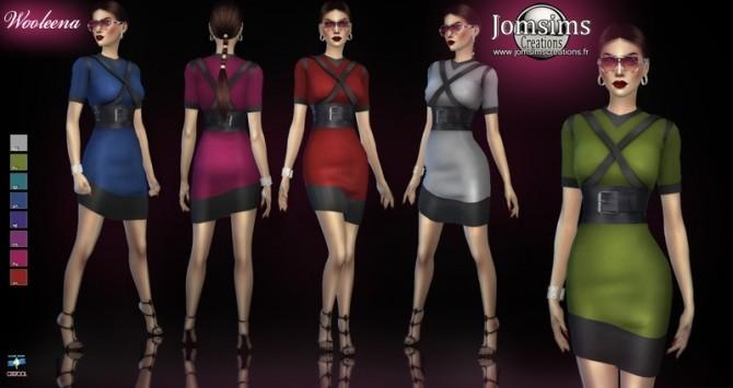 Sims 4 Wooleena dress at Jomsims Creations