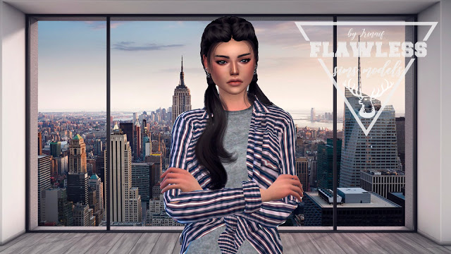 Sims 4 Mikaela at Amber Sim – Flawless
