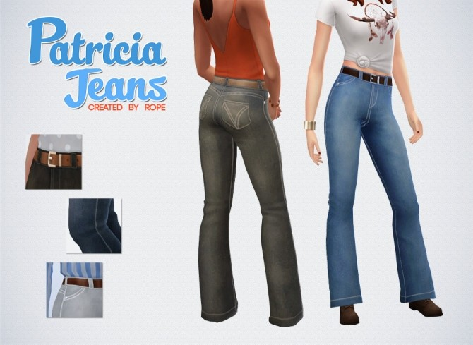 Sims 4 Patricia Jeans at Simsontherope