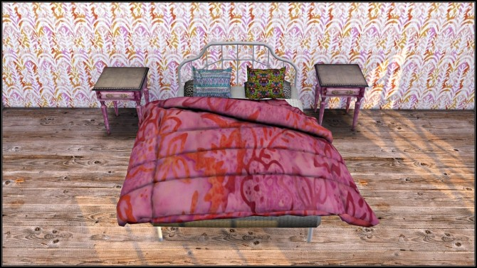 Recolored converted Cherry Sims Blanket at TaTschu`s Sims4 CC image 809 670x377 Sims 4 Updates
