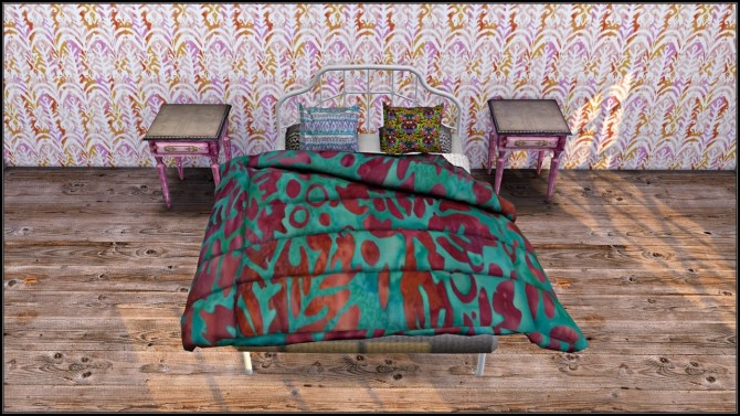 Recolored converted Cherry Sims Blanket at TaTschu`s Sims4 CC image 8113 670x377 Sims 4 Updates