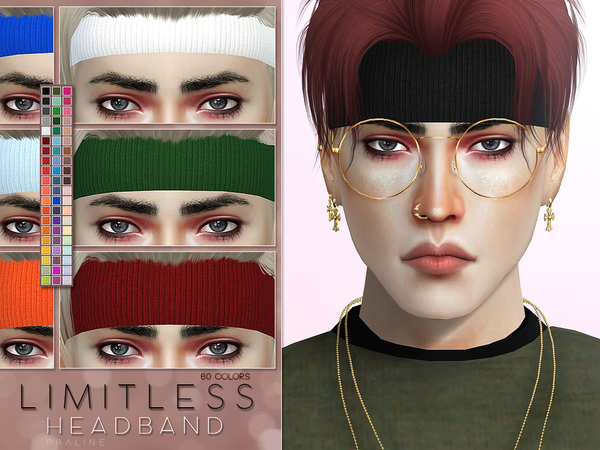 Sims 4 Limitless Headband by Pralinesims at TSR