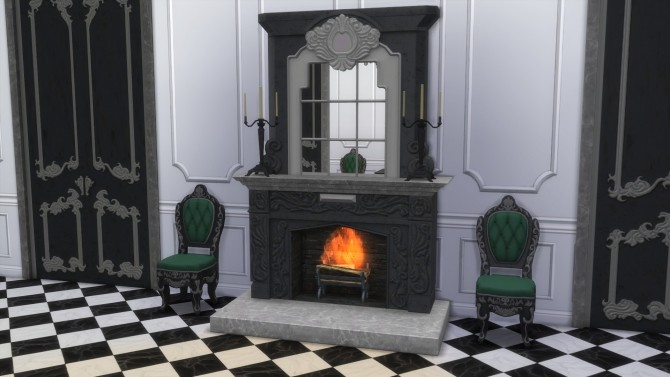 Dark Lux Fireplace with Mirror from TS3 by TheJim07 at Mod The Sims image 835 670x377 Sims 4 Updates