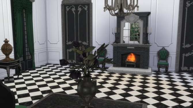 Dark Lux Fireplace with Mirror from TS3 by TheJim07 at Mod The Sims image 845 670x377 Sims 4 Updates