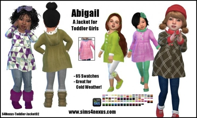 Abigail jacket by SamanthaGump at Sims 4 Nexus image 849 670x402 Sims 4 Updates