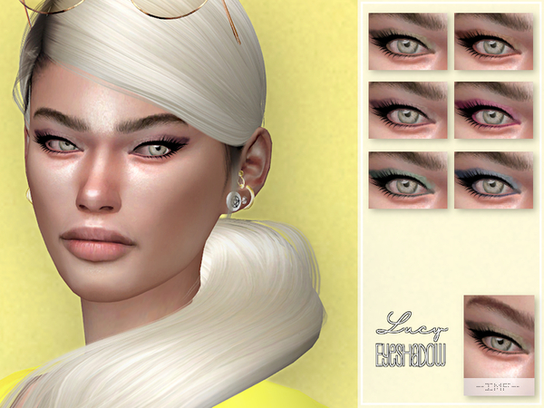 IMF Lucy Eyeshadow N.50 by IzzieMcFire at TSR image 850 Sims 4 Updates