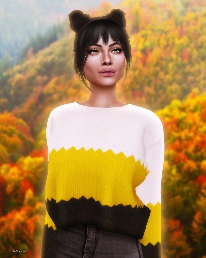 Sims 4 Hello Autumn Speed edit + sim at Katverse