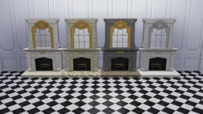 Dark Lux Fireplace with Mirror from TS3 by TheJim07 at Mod The Sims image 865 670x377 Sims 4 Updates